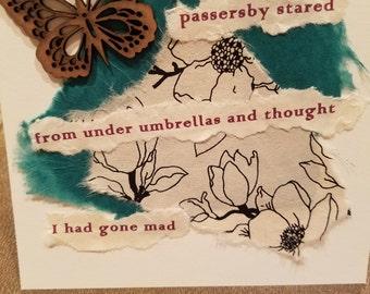 Poetry Art Card #11