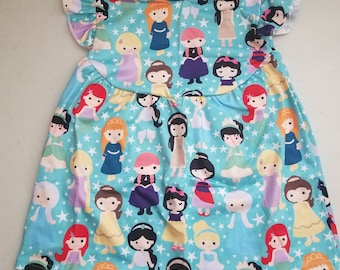 Girls Disney Princess Dress