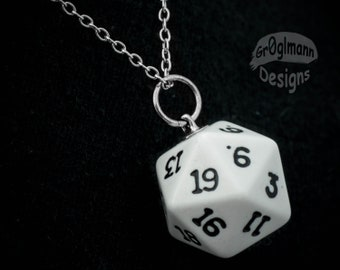 Necklace - D20 Dice