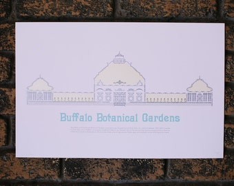 Buffalo and Erie County Botanical Gardens Architecture Print