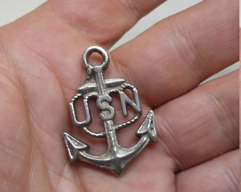 Spring Sale Vintage WW2 US Navy Key Chain Fob