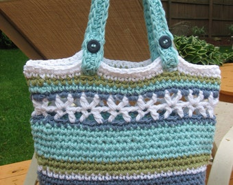 Beachside Bag Crochet Pattern Pdf, Instant Download Available