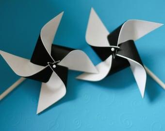 12 Mini Pinwheels You Choose Colors