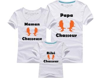 Shirt - Hunter family trio