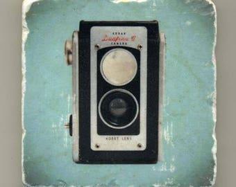 Kodak Duaflex Camera - Original Coaster