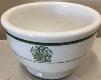 Knights of Pythias Ironstone Bowl