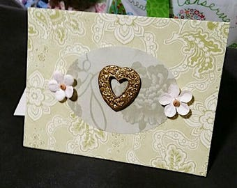 Hearts Love Greeting Card