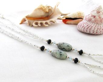 Barefoot Sandals - Gemstone and Swarovski Crystal
