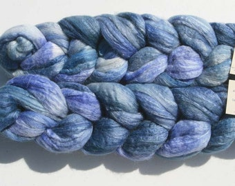 Polwarth Tussah Silk Spinning Fiber - 'Opal Creek'