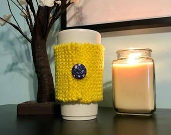 Knitted Coffee Mug Cozy