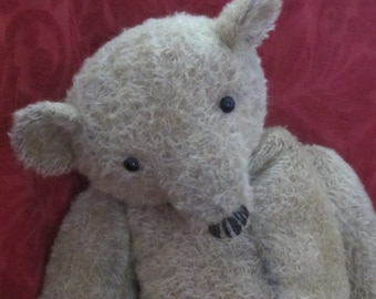 NEW PRICE - Arthur Higginbottom - Large OOAK Handmade Mohair Artist Bear 23""