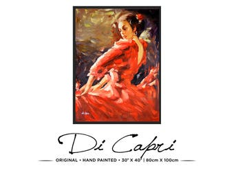 Château Merlot | Original Oil Painting On Canvas | Modern Art | 09