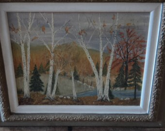 Rare L. Vanden Berg Signed 1964 Framed Original Oil Painting