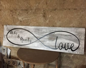 Handcrafted Love Infinity Sign