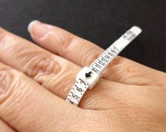 5pc Ring Sizer - Ring Measure - Multisizer - Ring Gauge, Jewelry Making, DIY, Craft Supplies, Jewelry Supplies