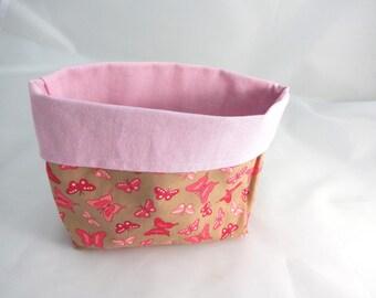 Empty pockets small pink butterflies