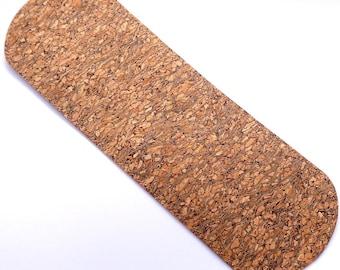 Cork Long Bottom in natural mosaic color, sewing, knitting, backpack, shoulder bag, knitting, design knitting, crochet supply, waterproof