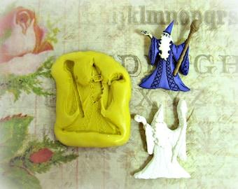 silicon mold,flexible Silicone mold,push mold, food supplies mold, clay supplies molds,wizard mold, # 51s