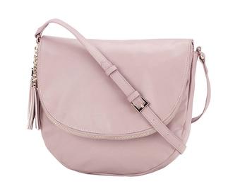 blush sienna tassel crossbody purse monogram purse personalized gift monogrammed crossbody bag