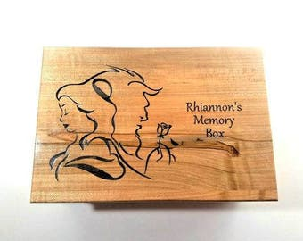 Personalized Fairy Custom Music Box choose your song Laser