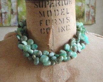 Assorted African Opal Necklace