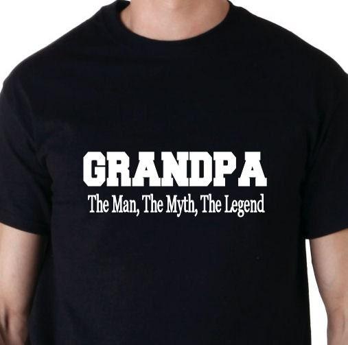 Grandpa - The Man, The Myth, The Legend t shirt