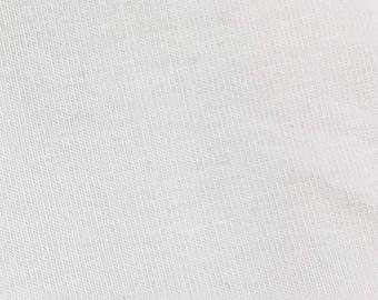 White Rayon Modal Spandex 60'' Wide 15 Yards Wholesale