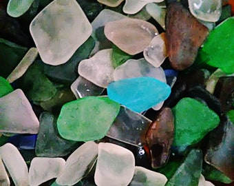 1) lb Bulk Sea Glass - Beach Glass - Excellent Craft and Jewelry Item