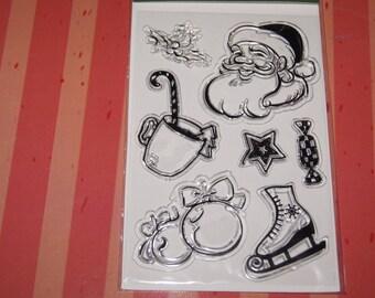 PRINT 10 X 15 CM STAMPS CHRISTMAS THEME
