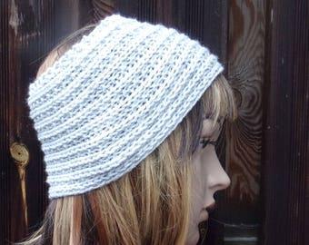 Wool headband woman