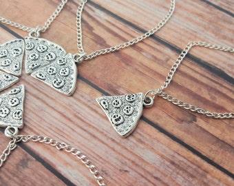 Pizza Friendship Bracelet, One Slice, Pizza Bracelet, Best Friends Bracelet, BFF Gift, Pizza Slice, Pizza Jewelry, Best Friend Forever Gift