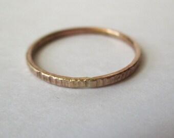 1 Dainty, Delicate Little Stoneless Stacker - NOW in Gold-fill.