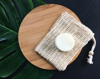 Shea Shaving & Conditioning Soap Bar, Scentless Cold Process Soap