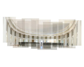 University of Virginia Rotunda - photograph, panorama, campus photograph, UVA campus, Charlottesville, UVA lawn, Virginia print, UVA Rotunda