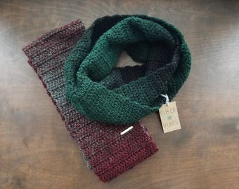 Infinity Scarf - Circle Scarf - Cowl - Oversized Cowl -