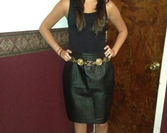 Newport Leather pencil skirt size 10