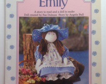 "Vintage Book and Doll Pattern DIY make your own doll - ""A Hat for Emily"""