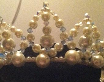 teardrop tiara