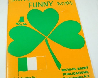 Vintage Song Book, St. Patrick's Day, Music, Songs That Tickle Your Funny Bone, Ruth Roberts, Bill Katz, Michael Brent