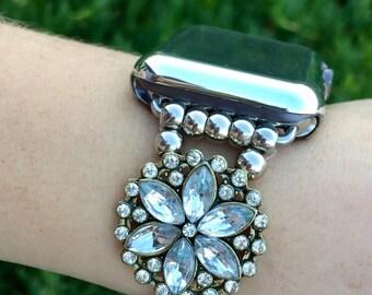 "Apple Watch iWatch Band 38mm 42mm Women Bands Case Bracelet ""Abby"" 38 42 Enhancement kits iWatch Bracelets 38 42 TimeKits Womens Cover"