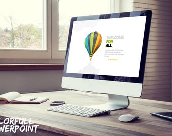 Colorfull Powerpoint Template