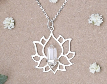 Everlasting Lotus Necklace