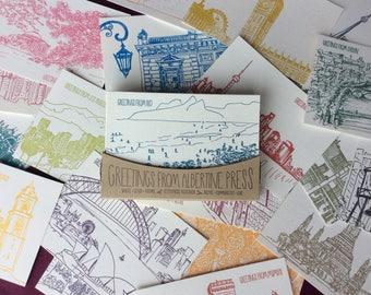 Globetrotter Postcard Pack - 20 postcards