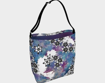 Shoulder Bag, large tote bag, bag for women, girls accessories, bags for girls, gifts for sister, gifts for girls, yoga bag, Bookbags, Ombre