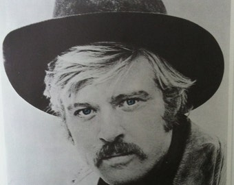 Robert Redford in Sundance Kid Vintage 70's Poster