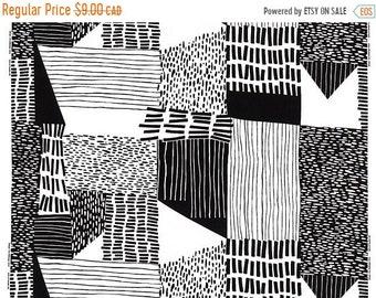 10% OFF - Abstract - IKEA Ingvill Cotton Fabric