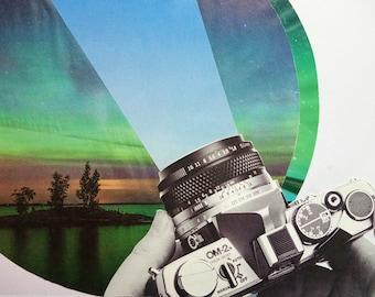 Original Collage Art   Wall Art   Fine Art   Abstract Art   Collage Art   Mixed Media Art   Contemporary Art   Minimal Art
