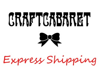 CRAFTCABARET Domestic EXPRESS Shipping Upgrade 1 / Upgrade Your Order To Priority Mail 2-3 Day Delivery Estimate