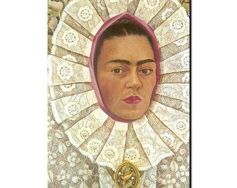 Frida Kahlo Self portrait refrigerator Magnet