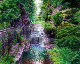 Treman Falls, Ithaca, NY